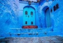 Удивительное место оттенков синего!