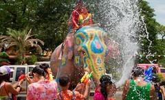 """Тайский Новый год """"Songkran"""" - невероятно веселый и экзотический праздник, который ежегодно увлекает празднованиями во второй половине апреля."""