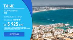 Тунис, вылет 28.05.2017 на 7 ночей от 5 925 грн
