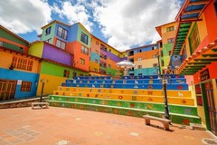 А Вы знали, что в Колумбии вырос яркий красочный город Гуатапе?