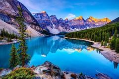 А Вы знали, что Канада - страна национальных парков, расположенных в горах?