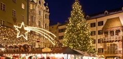 Горное рождество на земле Тироль в Австрии!