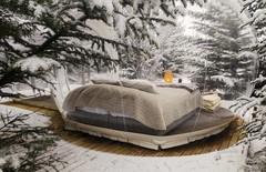 Зимняя исландская сказка в номере-пузыре!