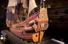 Морской музей затонувшего корабля Васа в Стокгольме