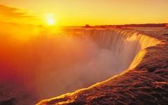 Американо-канадский водопад Ниагары!