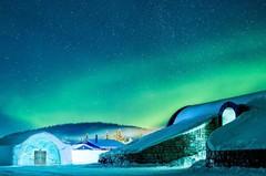 Ледовой уют и полярная атмосфера Icehotel!