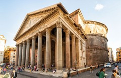 Пантеон - шедевр древнеримской архитектуры !