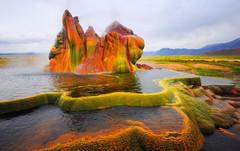 Гейзер Флай - чудесное творение волшебных сил природы!