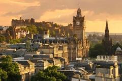 Эдинбург - город истории и настоящее смешение архитектурных стилей