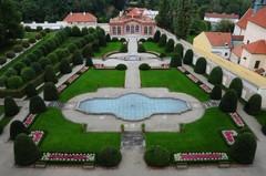 Великолепные сады Чернинского дворца в Праге!