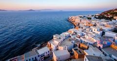 Маленький вулканический остров Нисирос в Эгейском море