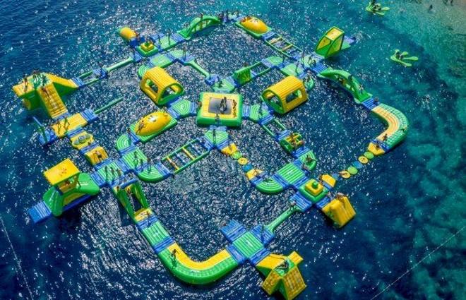В Дубае открылся парк развлечений на воде