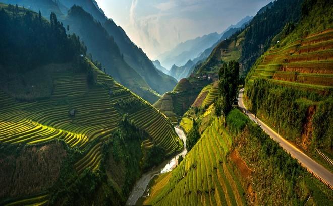А Вы знали, что во Вьетнам в Му Кан Чай есть удивительные Рисовые террасы?
