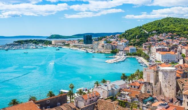 Второй по величине хорватский город Сплит - замечательное место для отдыха!