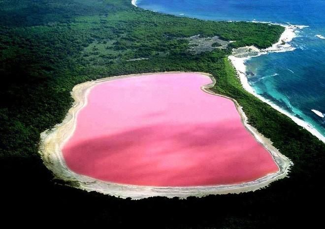 А Вы знали, что в Западной Африке в 30 км от Дакара находиться розовое озеро «Ретба»?