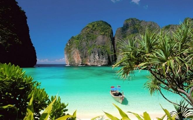 Райский уголок - бухта Майя Бей