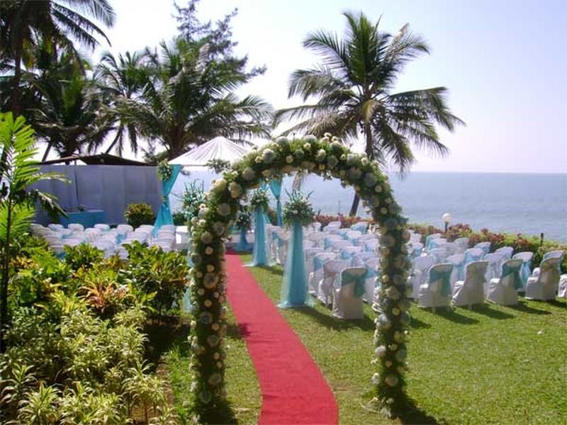 Bogmallo beach resort wedding